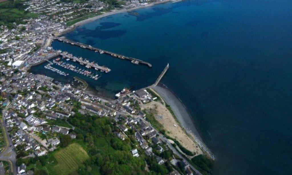 Aerial view of Newlyn (photo supplied by Feilden Clegg Bradley Studios)