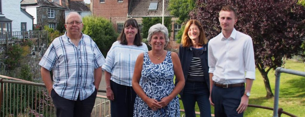 Group photo of Newlyn FISH Trust Board of Trustees. Mike Sagar-Fenton not present.