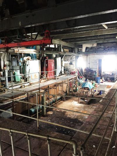 Inside former ice works, Newlyn (Photo by Feilden Clegg Bradley Studios)