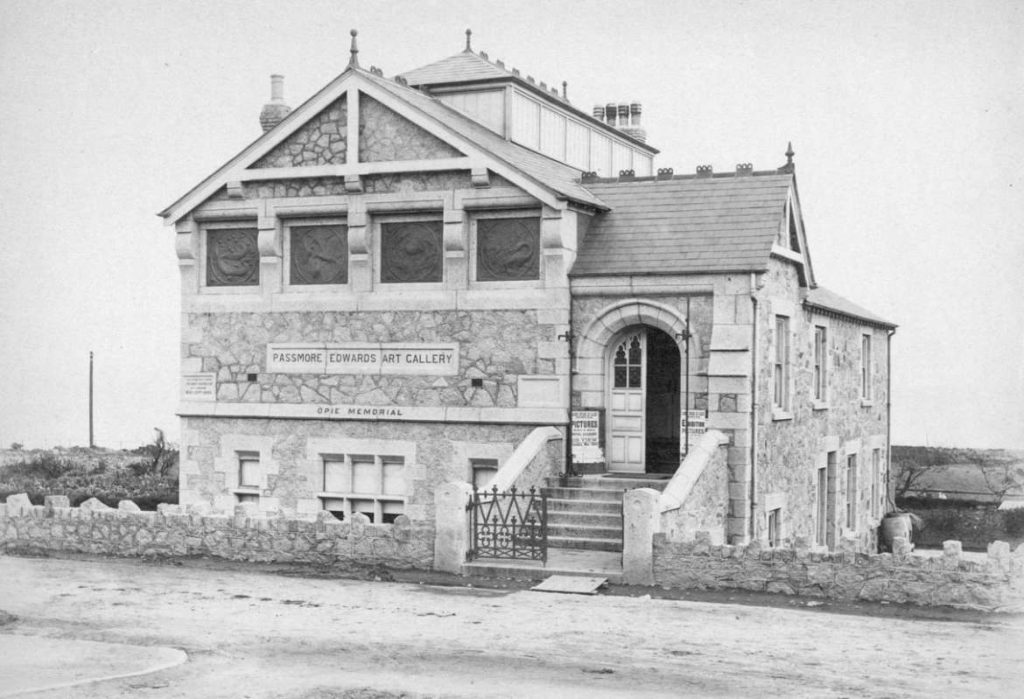 Historic photo of Newlyn Art Gallery (Penlee House Collection)