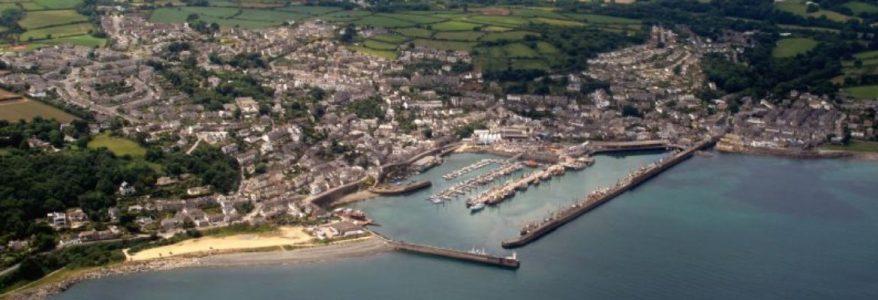 Aerial photo of Newlyn